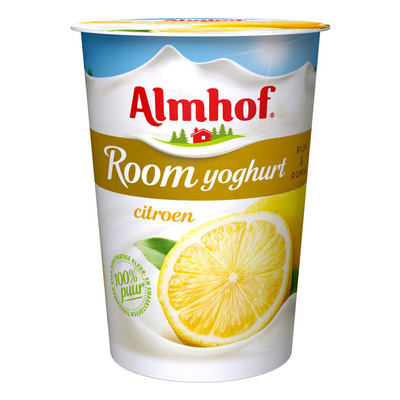 Almhof Roomyoghurt citroen (vol)