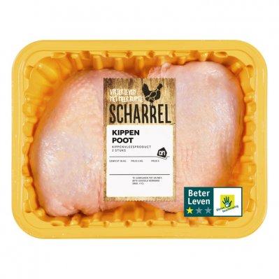 Huismerk Scharrel kippenpoot naturel