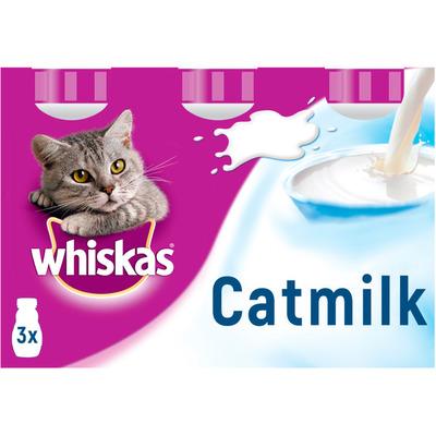 Whiskas Kattenmelk 3 flesjes