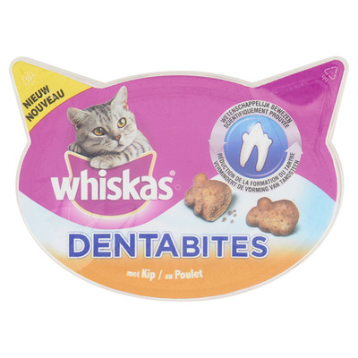 Whiskas Dentabites kip