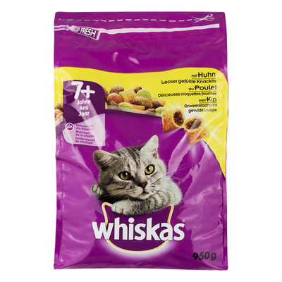 Whiskas Senior brokjes kip