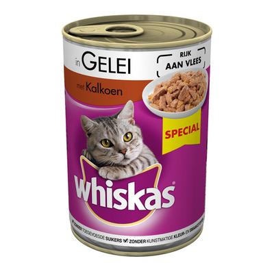 Whiskas Kalkoen in gelei