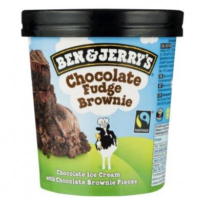 Ben & Jerry's Chocolate fudge brownie classic ijs