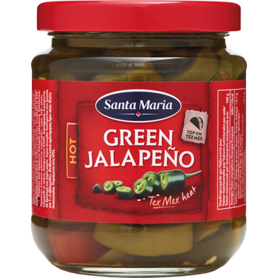 Santa Maria Green jalapeno hot