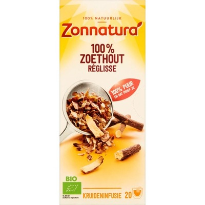 Zonnatura Zoethout thee