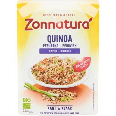 Zonnatura Quinoa met linzen