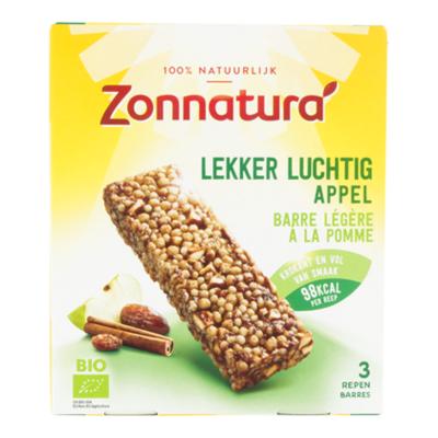 Zonnatura Reep lekker luchtig appel bio
