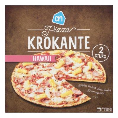 Huismerk Krokante pizza Hawaii