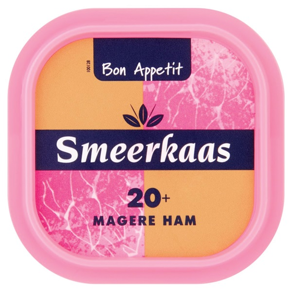 Bon Appetit Smeerkaas Ham 20+
