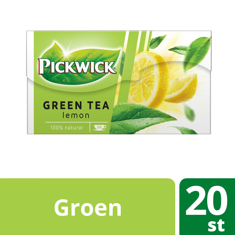 Pickwick Lemon groene thee