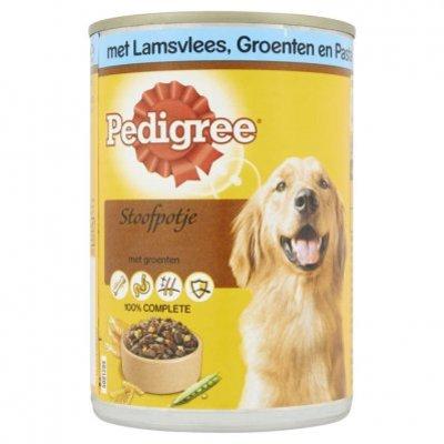 Pedigree Hondenvoer nat lamsvlees, groentenpasta