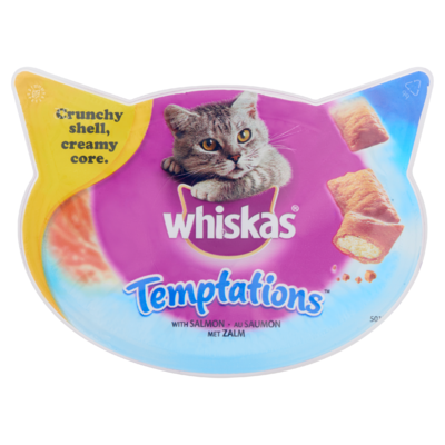 Whiskas Kattensnacks Temptations Zalm 60 g
