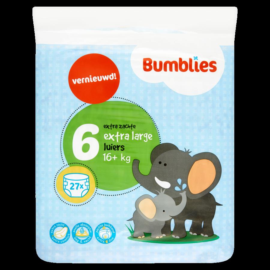 Bumblies Luiers extra large 16+ kilogram