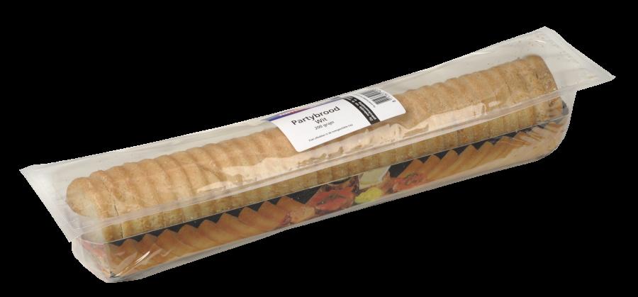 Jan Linders Partybrood wit-sesam zuurstofarm verpakt