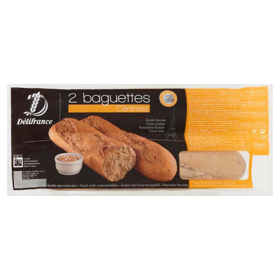 Delifrance Baguettes meergranen