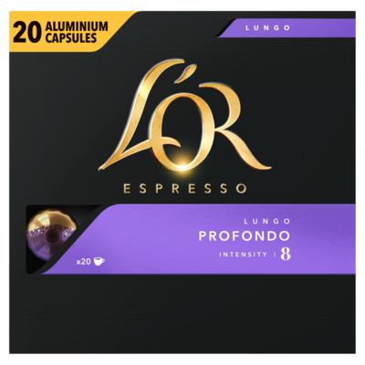 L'or Lungo Profondo Koffiecups Voordeelpak 20 Stuks