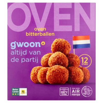 Huismerk Oven Bitterballen 12 x 25 g