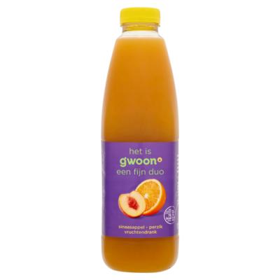 Huismerk Duodrank sinaasappel-perzik