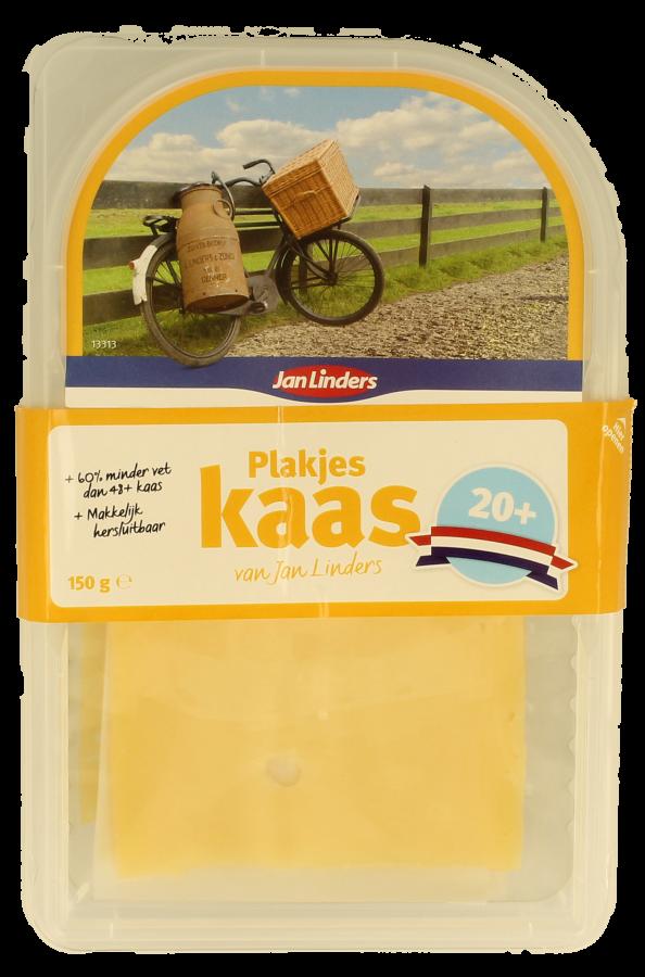 Jan Linders Kaas mager 20+ plakken