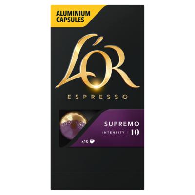L'or Espresso Supremo Koffiecups 10 Stuks
