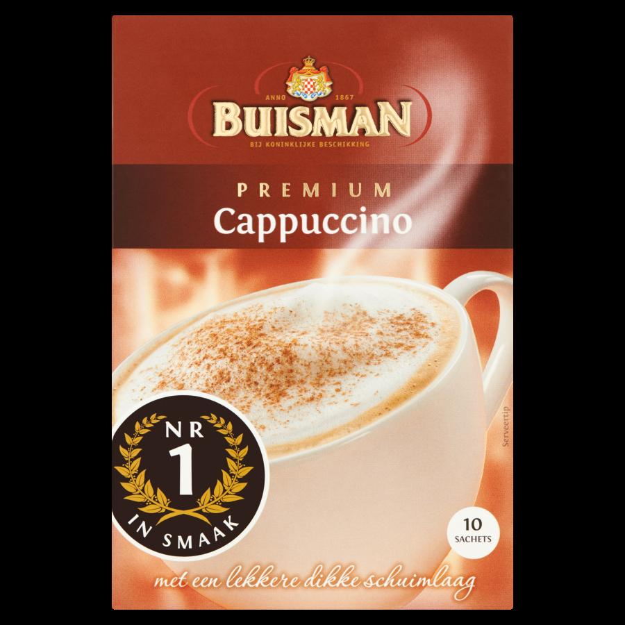Buisman Oploskoffie portieverpakking cappuccino