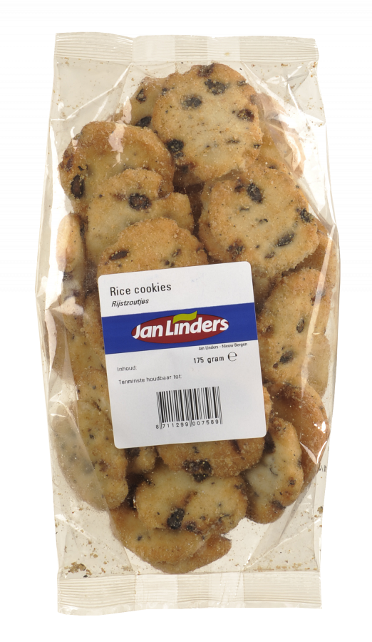 Jan Linders Rice cookies