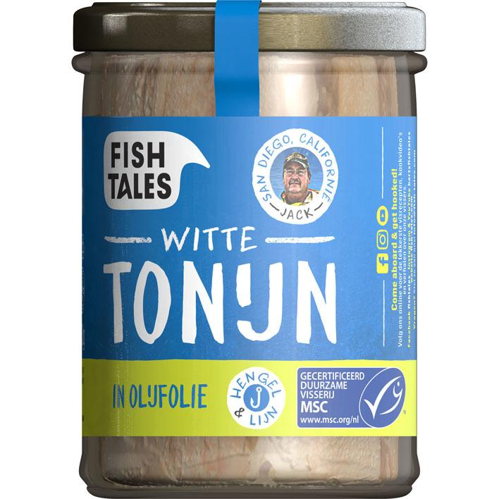 Fish Tales Albacore tonijn in olijfolie