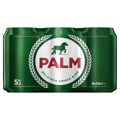 Palm Amber 6 x 33cl