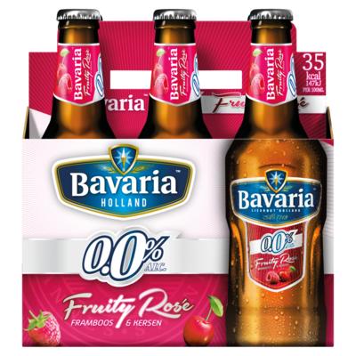 Aanbieding rose bier