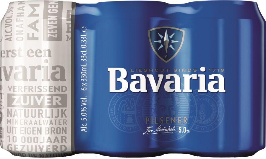 Bavaria Bier 6 x 33cl