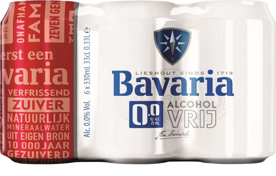Bavaria 0,0% original 6 x 33cl