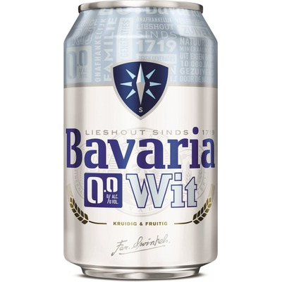 Bavaria 0,0% wit 6 x 33cl
