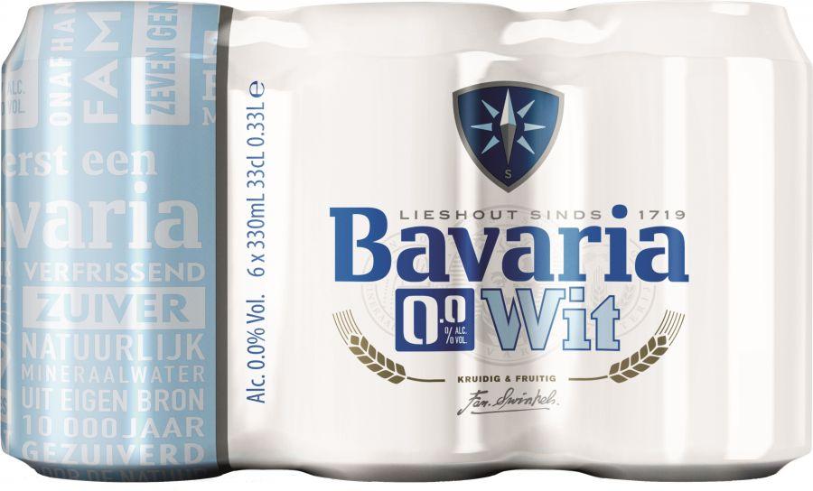 Bavaria 0,0% wit 6 x 30cl