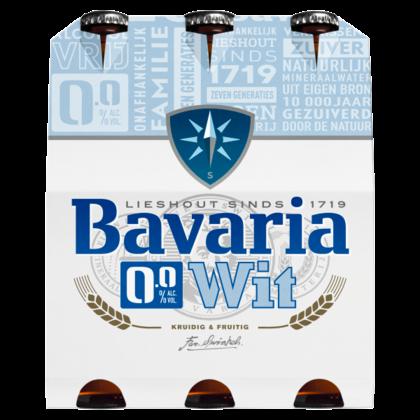 Bavaria 0.0% Alcoholvrij Wit Bier