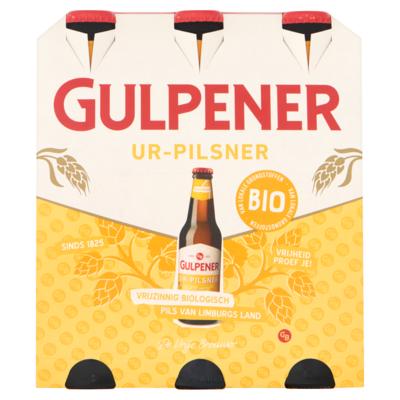 Gulpener Ur-pilsner bio 6 x 30cl