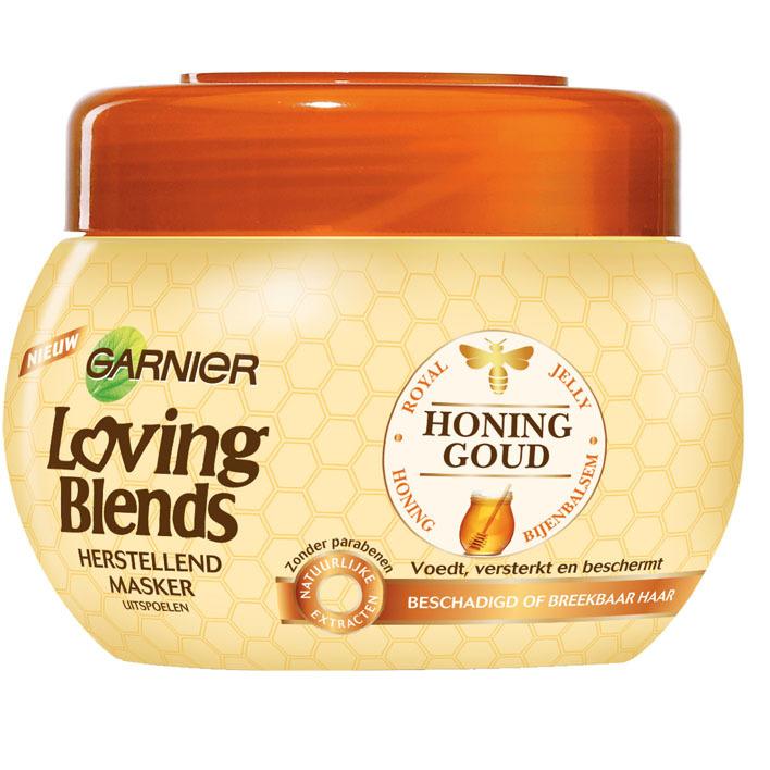 Loving Blends honing goud masker