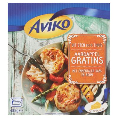 Aviko Aardappel gratins met emmentaler kaas & room