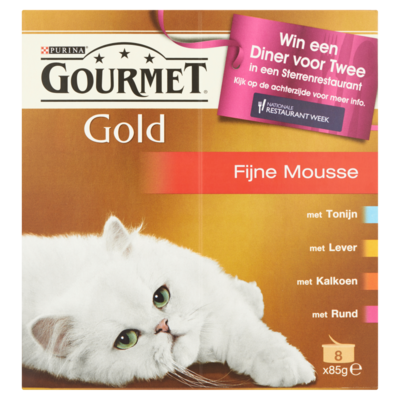 Gourmet Gold mousse rood 8x 85 gram