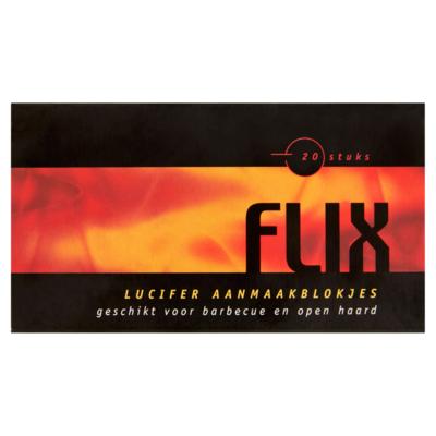 Flix Lucifer aanmaakblokjes 20 stuks
