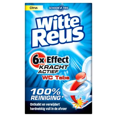 Witte Reus Cleaner wc tabs 8 stuks
