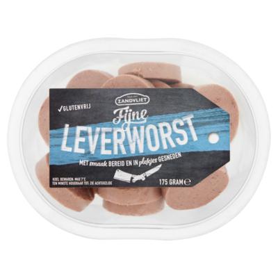Borreluur Leverworst plakjes