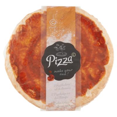 Conveni Pizza bodem ongetopt 2 stuks