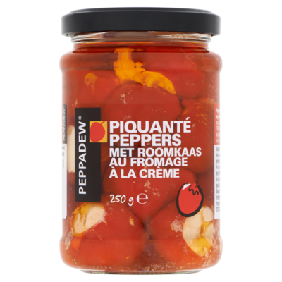 Peppadew Piquanté Peppers met Roomkaas 250 g