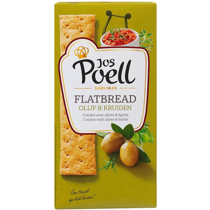 Jos Poell Flat bread Griekse olijf & feta