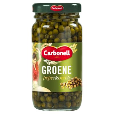 Carbonell Groene peperkorrels 100 gram