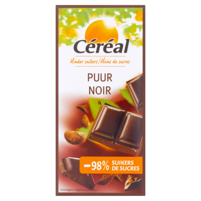 Cereal Chocoladetablet puur