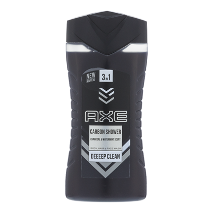 Axe Showergel carbon