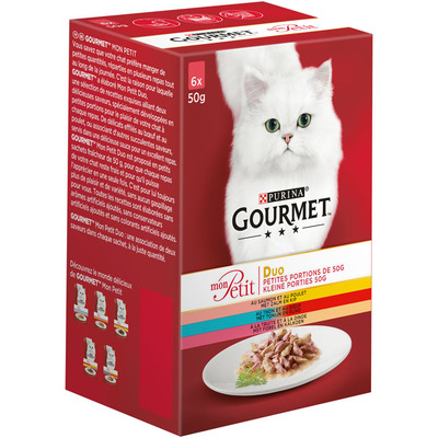 Gourmet Mon Petit duo kl porties oa zalm&kip