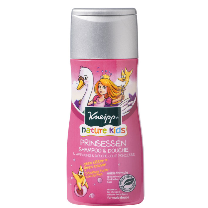 Kneipp Kids shampoo en douche framboos