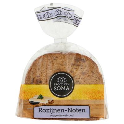 Soma Rozijnen-noten roggebrood